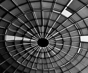 architecture, black and white, and china image