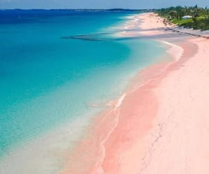 beach, water, and Island image