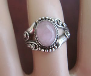 vintage ring, fashion accessory, and sterling ring image