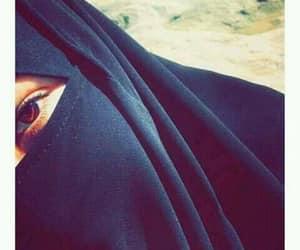 hijabista, photo profile, and jelbab image