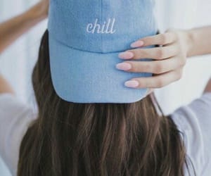 blue, hat, and style image