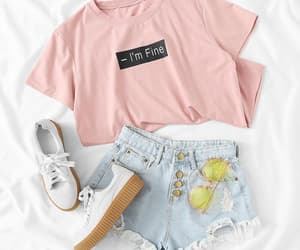 fashion, outfit, and summer fashion image