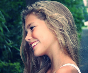 girl, pretty, and smile image