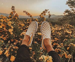 checkered, one, and sneakers image