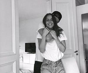 couple, hug, and Relationship image