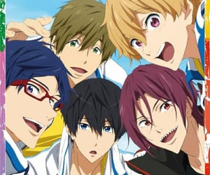 rei, makoto, and anime boys image