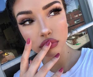 site models, pretty girl girls, and makeup goals image