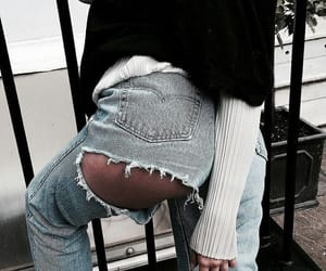 denim, outfit, and summer image
