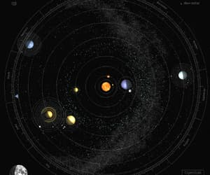 gif, space, and planets image