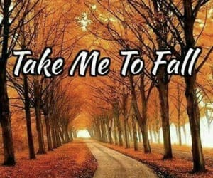 autumn, please hurry, and take me to fall image
