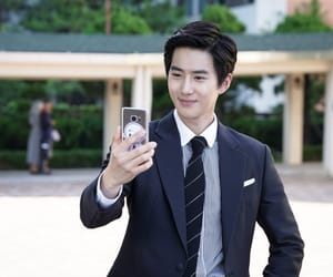 exo, richman, and kimjunmyeon image