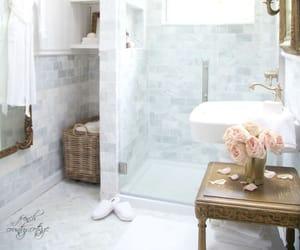 architecture, building, and bathroom romantic image
