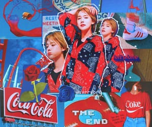 aesthetic, blue, and kpop image