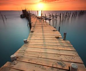 sunset, photography, and landscape image