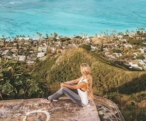 hawaii, Honolulu, and lanikai beach image