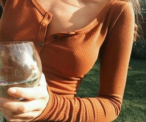 fashion, wine, and clothes image