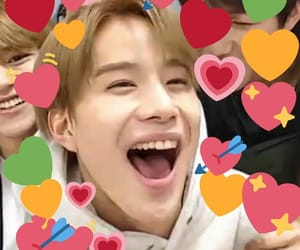 heart, meme, and jungwoo image