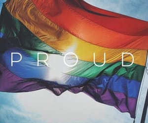 proud and lgbt image