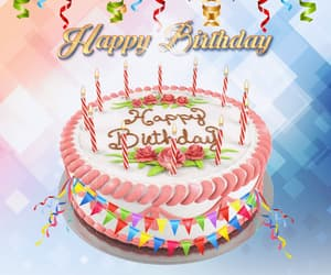 animated, animation, and happy birthday image