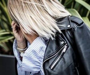 blonde, chemise, and jacket image