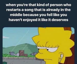 lisa simpson, the simpsons, and relatable image