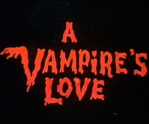 vampire and red image
