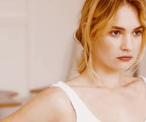 actress, beauty, and lily james image