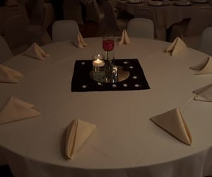 reception, white, and table image
