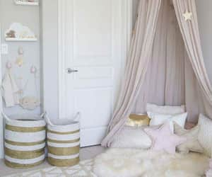 bed, ideas, and room decoration image