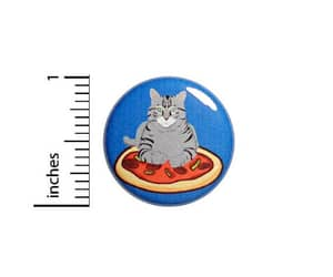 etsy, i love pizza, and funny buttons image