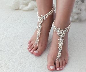 etsy, barefoot sandals, and foot accessories image
