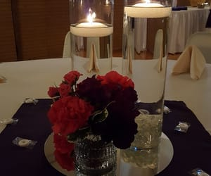 candles, wedding, and decorations image