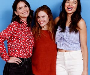 shelley hennig, holland roden, and crystal reed image
