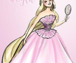 beauty, disney, and dress image