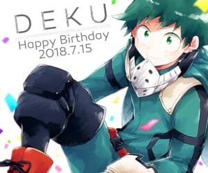 anime, anime boy, and deku image