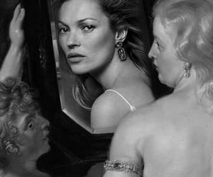 beauty, kate moss, and painting image