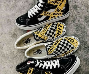 vans, fashion, and off white image