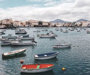 boat, travel, and lanzarote image