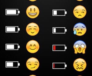 relatable, emojis, and battery charge image