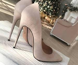 beige, heels, and Nude image