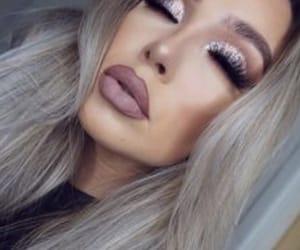 beauty, big, and eyelashes image