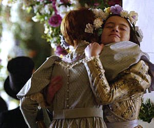 anne shirley, gif, and diana barry image