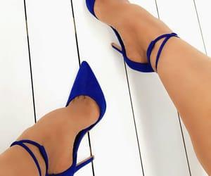 Bleu, talon, and blue image