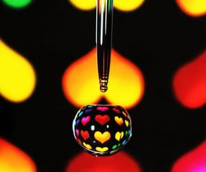 hearts, Water Drop, and photography image