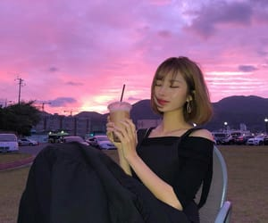 aesthetic, sky, and asian image