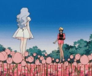anime, gif, and anime hug image