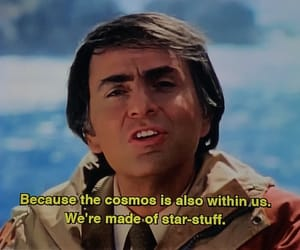 cosmos, stars, and sagan image