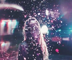 girl, photography, and lights image