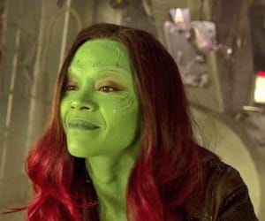 guardians of the galaxy, gamora, and zoe saldana image