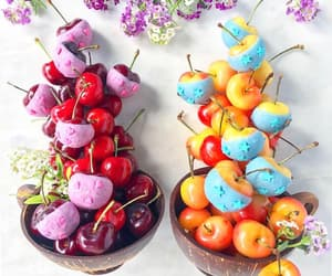 candy, summer, and cherry image